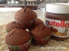 Kek Tariflerim - Part 68 Nutella, Muffins, Appetizers, Breakfast, Desserts, Food, Cake Ideas, Morning Coffee, Tailgate Desserts