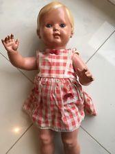 SCHILDKRÖT Puppe CHRISTEL alte Celluloid-Puppe Hals 46/49 K49 cm, orig. um 1950