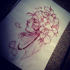 drawing for tatoo Head Tattoos, Dope Tattoos, Funny Tattoos, Gypsy Tattoos, Dragon Tattoos, Sleeve Tattoos, Dibujos Tattoo, Desenho Tattoo, Tattoo Flash Art