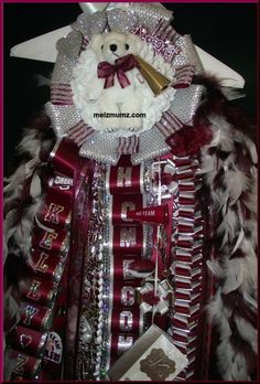 made by www.melzmumz.com   Deluxe Single Homecoming Mum with extras package Lewisville High School