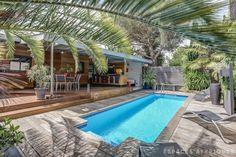 Bègles : Maison en bois avec terrasse et piscine - Agence EA Bordeaux