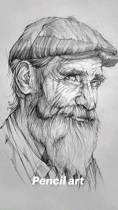 Realistic Pencil Drawings, Dark Art Drawings, Art Drawings Sketches Simple, Pencil Art Drawings, Drawing With Pencil, Pencil Sketch Portrait, Portrait Sketches, Wie Zeichnet Man Manga, Human Anatomy Art