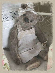 Now that I'm all grown up, I can buy any old Teddy Bear I want - except the old Teddy Bear I want.