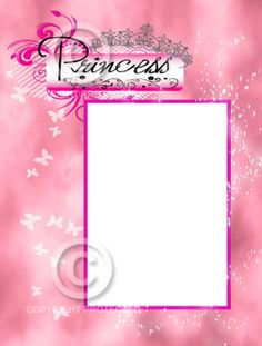 Unfrmaed 8x6 Princess Framed Photo Matte by SapphireCustomPhotos, $10.00
