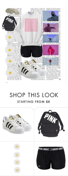 """""""hotlinebling"""" by unicorn-and-luke-lover ❤ liked on Polyvore featuring adidas Originals, Victoria's Secret, Accessorize, Under Armour and Drakes London"""