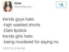 https://www.youtube.com/c/QueenKeema... trends men hate. Trends girls hate. Saying no. Rape culture. Women homicides. Gendercide.