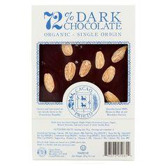 Almond and Salt Dark Chocolate Bar by Cacao Prieto