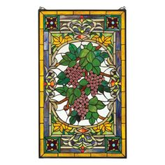 Wine wall art decor is especially popular right now especially kitchen wall art. Wine connoisseurs will drink up the variety of wine wall art decor Stained Glass Panels, Stained Glass Patterns, Stained Glass Art, Antique Stained Glass Windows, Leaded Glass, Window Hanging, Window Art, Window Ideas, Glass Wall Art