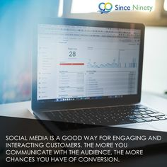 Social media is a good way for engaging and interacting customers. The more you communicate with the audience, the more chances you have of conversion. Marketing Branding, Social Media Marketing, Digital Marketing, Competitor Analysis, Conversation, Advertising, Business, Amazing, Inspiration