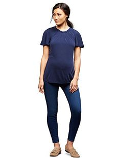 39cdb02d80b79 Paige Side Panel Skinny Leg Maternity Jeans >>> For more  information