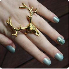 Deer ring#Repin By:Pinterest++ for iPad#