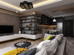 Small Apartment by Ceren Torun Yiğit