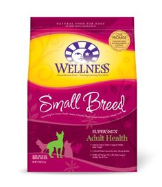 Wellness Complete Health Natural Dry Dog Food, Small Breed Senior Health Recipe, is healthy, natural dog food for senior small breed dogs featuring a smalle Best Dog Food, Dry Dog Food, Pet Food, Natural Dog Food, Natural Health, Wellness Dog Food, Whole Food Recipes, Dog Food Recipes, Healthy Recipes