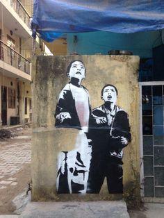 St.ART Delhi – Street Art Festival http://www.widewalls.ch/street-art-festival-india/ #streetart #murals #festival
