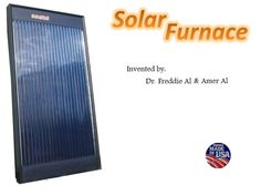 Home Solar Furnace by Dr. Freddie Al — Kickstarter.  Like a 1960s beer-can solar air heater, but uses vacuum to prevent heat lost from unit. Sits on south wall of your building. Pulls cold air out at floor level, returns hot air at ceiling level (better to return heat at floor too.) Self-contained, powered by 2 solar fans at intake * exhaust.