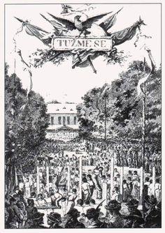 Tuzme se - the slogan of Sokol