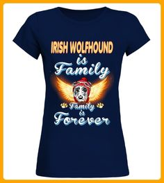 Irish Wolfhound Is Family Forever - Wolf shirts (*Partner-Link)