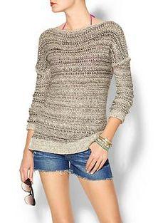 Vince Drop Shoulder Sweater | Piperlime