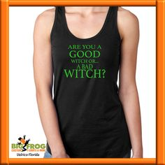 afb0ffa8a ... us at DesignersValrico@BigFrog.com. See more. Are you a good witch or a  bad witch custom t--shirt. Get