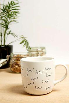 Boob Pattern Mug
