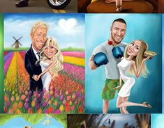 "Check out new work on my @Behance portfolio: ""Caricature Commissions- Couple"" http://be.net/gallery/61583425/Caricature-Commissions-Couple"