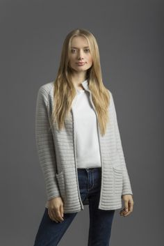100%cashmere jacket; collection CoSTANZA.P