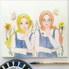 Hijab sizieeezzz....