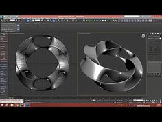 In this tutorial, I'll show you two distinct techniques to modeling a toroidal ring of saddle surfaces, known as a Scherk-Collins sculpture, without any plug...
