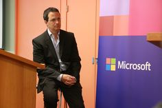 Jorge Cella (Director de Ciudadanía Corporativa de Microsoft para Argentina & Uruguay)