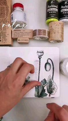 Bullet Journal Washi Tape, Bullet Journal Paper, Bullet Journal Ideas Pages, Art Journal Pages, Vintage Glam, Best Calligraphy Pens, File Decoration Ideas, Vintage Notebook, Collage Book