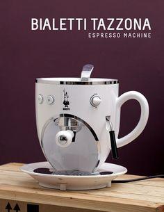 Cool Design for Espresso Machine Coffee Is Life, Espresso Machine, Foodies, Cool Designs, Cool Stuff, Drinks, Tableware, Espresso Coffee Machine, Drinking