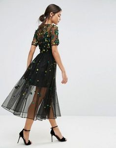 ASOS | Vestido amplio con adornos de ASOS