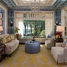 eclectic living room by Kathy Morgan