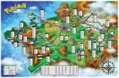 Pokemon x y catch map