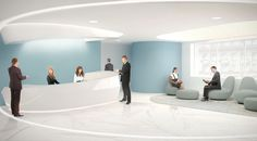 N Company Reception | HAAST Architectural Bureau | Reception Zone Design