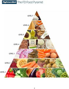 FD Fighter Diet Pyramid - Understanding the Food Pyramid