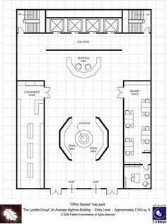 Modern Floorplans: High-Rise Building - Fabled Environments |  | Modern FloorplansDriveThruRPG.com