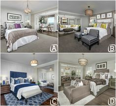 Which master bedroom with RETREAT, do you think is really NEAT?
