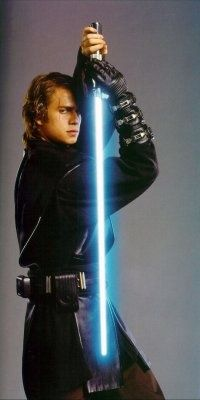 Hayden Christensen as Anakin Skywalker in Episode III