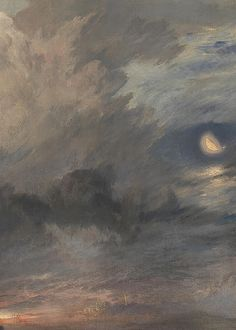 The Parting of Hero and Leander (detail), J.M.W. Turner