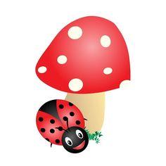Little Ladybird 🍄#cartoon #illustration #illustrator #mushrooms #ladybird #cute #insect #doodle #depict #art #drawing #design Illustration, Hello Kitty, Doodles, Cartoon, Drawings, Creative, Cute, Design, Character