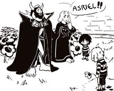 Undertale by Gudtavosky.deviantart.com on @DeviantArt God, my heart. If only this happened in the game. Frisk could have led them to him. Would have been heartbreaking though, I can imagine.
