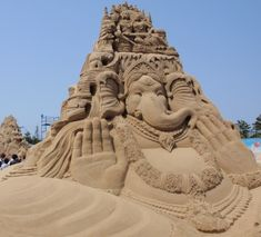 World Sand Sculpture Festival 2009, India, posted via pinktentacle.com