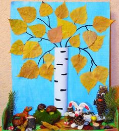 Фотография Autumn Crafts, Autumn Art, Nature Crafts, Autumn Theme, Autumn Activities For Kids, Fall Preschool, Craft Activities, Diy For Kids, Crafts For Kids