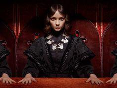 Tatty Devine Autumn Winter 2014 Collection - Seance Hands Statement Necklace