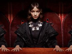 Is there anybody there? Discover eerie new jewellery inspired by the dark arts now: http://bit.ly/1kzrSJ7
