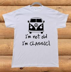 Volkswagen Bus Vanagon VW Van camper Classic Old Funny by Crazolka, $20.00