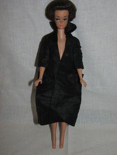 VINTAGE #971 EASTER PARADE BARBIE RARE BLACK COAT TM TAG 1959 MATTEL DOLL