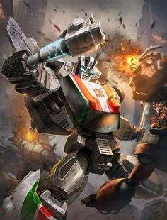 Autobot Wheeljack Artwork From Transformers Legends Game