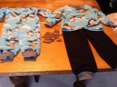 Matching pjs for niece and nephew